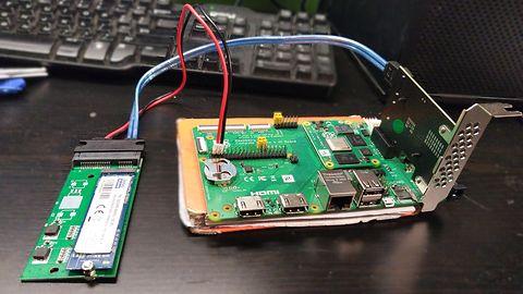 Raspberry Pi CM4  jako serwer plików?