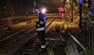 Ożarów Mazowiecki. Pociąg śmiertelnie potrącił mężczyznę