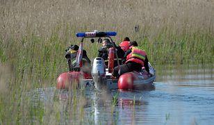 Ciało mężczyzny wyłowili strażacy ze specjalistycznej grupy wodno-nurkowej. Zdjęcie ilustracyjne