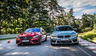 Mercedes-AMG E63 S oraz BMW M5: zapowiedź wielkiego starcia dwóch supersedanów