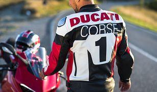 Ubrania motocyklowe od Ducati.