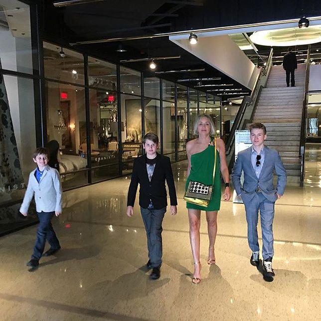 Sharon Stone z synami