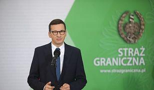 """Kryzys na granicy. Premier mówi o """"akcji Moskwy"""" (PAP)"""