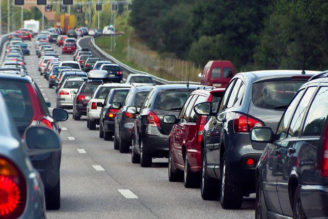 Poznań. Wypadek na ul. Warszawskiej. Motocyklista wjechał w osobówkę