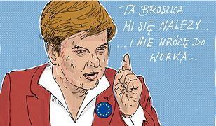 """""""Europo, powstań z kolan"""" - niedługo Beata Szydło będzie mogła w ten sposób zagrzewać europosłów niemal codziennie"""