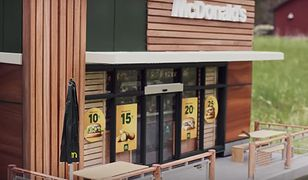 Restauracja McDonald's dla pszczół