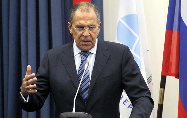 """Siergiej Ławrow do studentów: polityka NATO """"absolutnie prowokacyjna"""""""