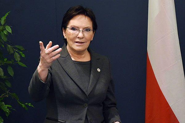 Ewa Kopacz: Jacek Rostowski nie będzie szefem moich doradców