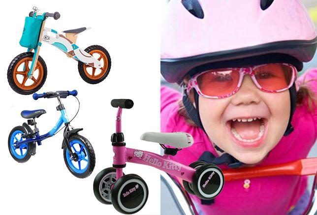Rowerek jest świetnym prezentem zarówno dla chlopców, jak i dziewczynek