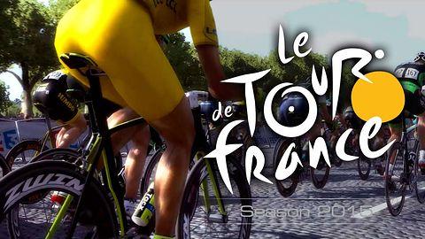 Gra na licencji Tour de France 2015 to pewniak do plastronu lidera