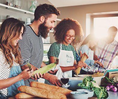 Czekoladowe przyjęcie, czyli gotujemy z przyjaciółmi