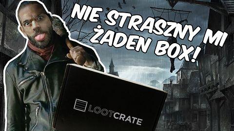 Unboxing Lootcrate Październik 2016