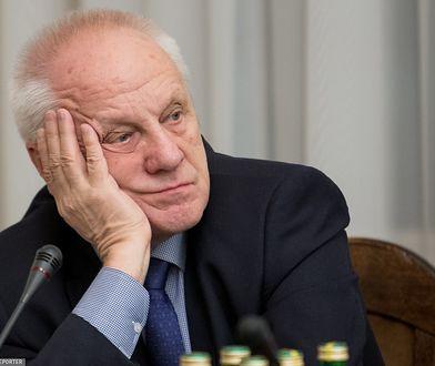 Wyniki wyborów parlamentarnych. Stefan Niesiołowski ostro uderza w Grzegorza Schetynę