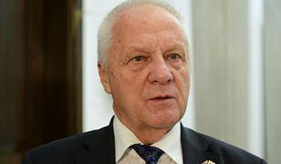 Stefan Niesiołowski zdecydował. Wycofuje się z polityki