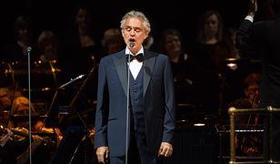 Andrea Bocelli wkrótce zaśpiewa dla polskich fanów