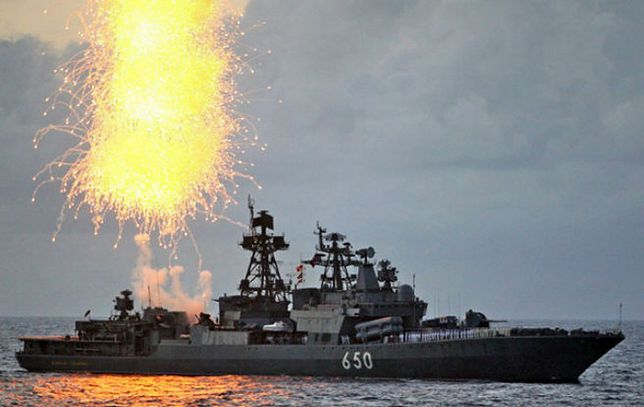 """Rosyjski niszczyciel """"Admirał Czabanienko"""""""