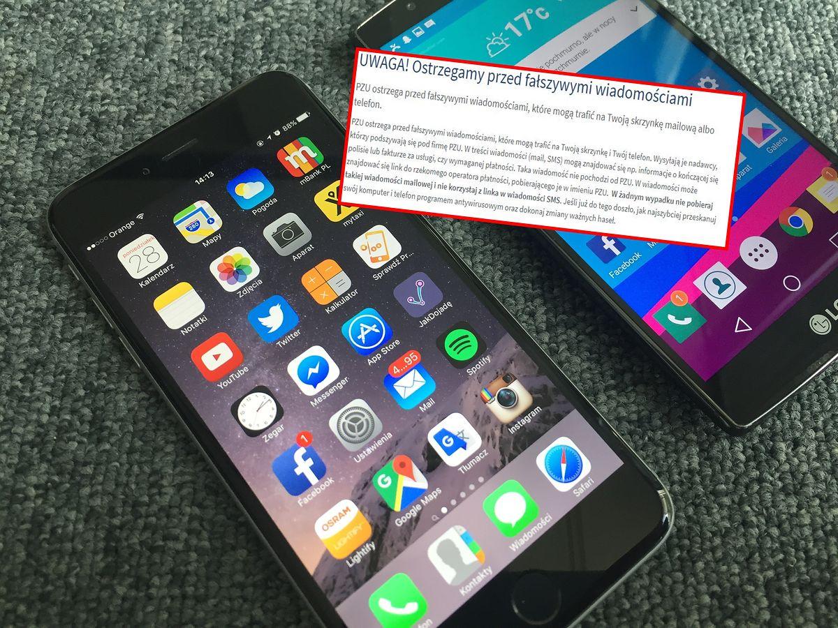 PZU ostrzega klientów. Atak na skrzynki mailowe i telefony