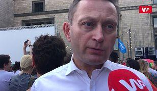 Warszawa przeciw przemocy. Paweł Rabiej solidarny z Białymstokiem