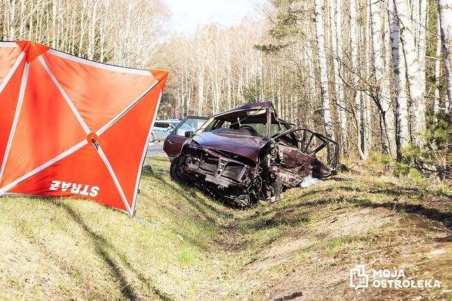 Tragiczny wypadek na DK 53 w okolicach Kadzidła