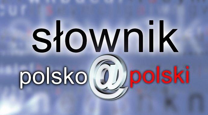Słownik polsko@polski
