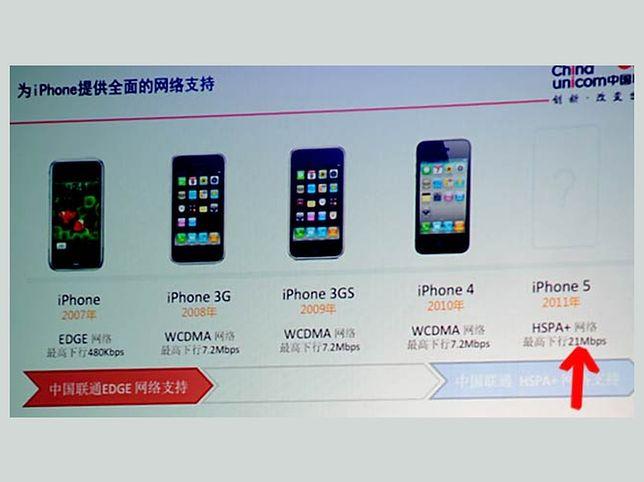 iPhone 5 bez 4G!