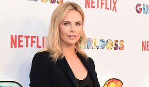 LOOK OF THE DAY: Charlize Theron w czarnym total look