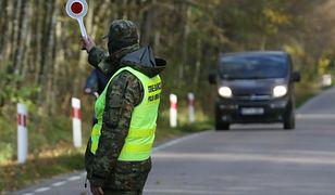 Działania Straży Granicznej na granicy polsko-białoruskiej