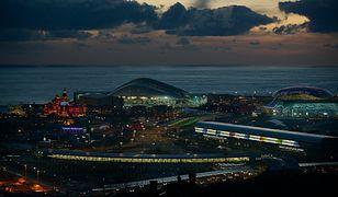 Widok na park olimpijski w Soczi