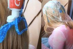 TikTokerka pokazała, jak farbuje włosy koleżance pastą do zębów. Obserwatorzy wkurzeni