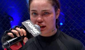 """TYLKO NA PUDELKU: Fani oskarżają Zusje o to, że walczyła pod wpływem narkotyków. Organizator Fame MMA komentuje: """"To jest mocno nie na miejscu"""""""