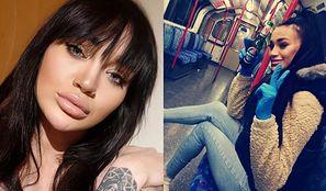 """Ciężarna Jola z """"Warsaw Shore"""" z butelką w ręku snuje refleksje w pustym londyńskim metrze: """"Każdego dnia jest gorzej"""" (FOTO)"""