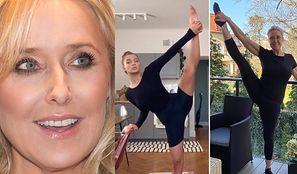 55-letnia Agata Młynarska udowadnia, że podniesie nogę wyżej niż Julia Wieniawa. Ikona? (FOTO)