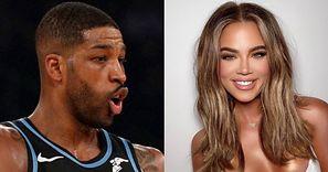 """Rozpłomieniony Tristan Thompson komentuje przemianę Khloe Kardashian: """"Ale LASKA"""""""