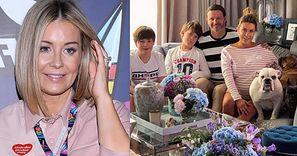 """Wzruszona Małgorzata Rozenek prezentuje pokaźny odrost, świętując urodziny rodzinnym zdjęciem: """"Od rana mam mokre oczy"""""""