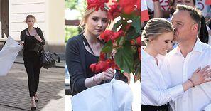 Kinga Duda przyleciała do Polski, by wesprzeć ojca w ostatnim dniu kampanii wyborczej (ZDJĘCIA)