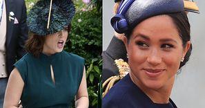 """Harry i reszta royalsów byli ZAŻENOWANI tym, że Meghan Markle ogłosiła ciążę na ślubie Eugenii: """"Ogromna TOWARZYSKA GAFA"""""""