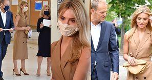 Donald Tusk odwiedza lokal wyborczy w towarzystwie żony Małgorzaty i córki Katarzyny (ZDJĘCIA)
