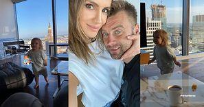 Podekscytowana Sara Boruc chwali się nowym gniazdkiem, z którego widać panoramę na CAŁĄ Warszawę. Robi wrażenie? (ZDJĘCIA)