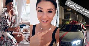 30. urodziny Klaudii Halejcio: śniadanie do łóżka w hotelu na greckiej wyspie i MERCEDES OD UKOCHANEGO (FOTO)