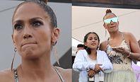 Skupiona Jennifer Lopez ekscytuje się zawodami konnymi wraz z całą rodzinką (FOTO)