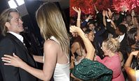 Brad Pitt i Jennifer Aniston BAWILI SIĘ RAZEM na after party po SAG Awards!