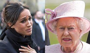 """Królowa Elżbieta oficjalnie ZABRONIŁA Meghan Markle używać określenia """"Royal""""!"""