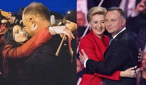"""Adoratorka Andrzeja Dudy przekonuje o romansie z prezydentem: """"Wszyscy, którzy tam byli, widzieli, że NIE TYLKO SIĘ PRZYTULILIŚMY"""""""