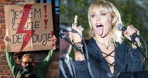 Miley Cyrus udostępniła wiadomość o zakazie aborcji w Polsce!