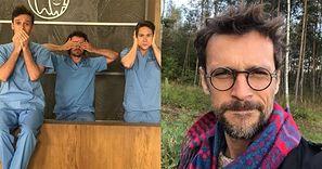 Partner Barbary Kurdej-Szatan z reklamy odszedł z serialu po CENZURZE sceny POCAŁUNKU dwóch mężczyzn