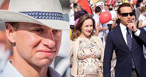 Dziennikarka pyta Krzysztofa Bosaka, czy poświęciłby karierę i pracę dla ciężko chorego dziecka