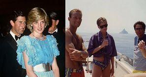 Księżna Diana spędza wakacje z bogatymi znajomymi na NIEPUBLIKOWANYCH wcześniej fotografiach SPRZED 30 LAT (ZDJĘCIA)