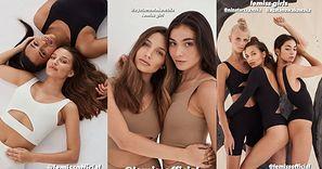 """Julia Wieniawa pokazała kolekcję ubrań autorskiej marki. Internauci: """"Tak troszkę zaleciało kampanią Skims od Kim Kardashian"""""""