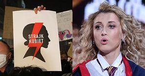 """Justyna Żyła ZABIERA GŁOS w sprawie Strajku Kobiet. Internauci niepocieszeni: """"Nie dziwię się, że MĄŻ CIĘ ZOSTAWIŁ"""""""