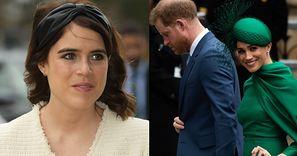 Księżniczka Eugenia wprowadziła się do rezydencji PORZUCONEJ przez księcia Harry'ego i Meghan Markle!